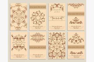 Set booklet design template
