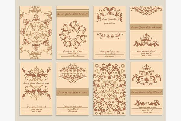 Set booklet design template