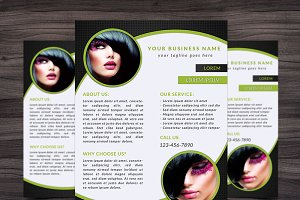 Flyer Template 007 for Photoshop