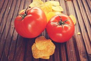 Tomato chips