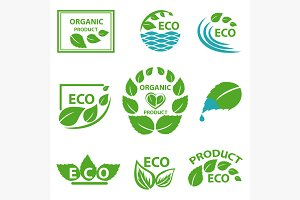 Organic products, leaflet