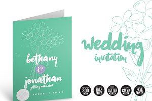 Wedding Invitation Flowers