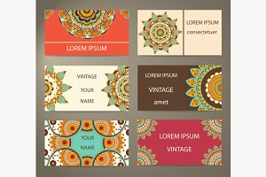 Set business cards