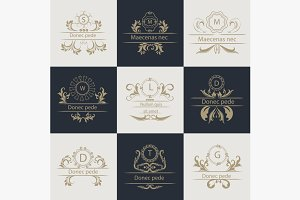 Design cards ornamental