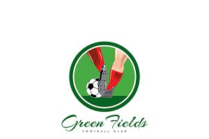 Green Fields Football Club Logo