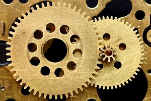 Mechanism with gears
