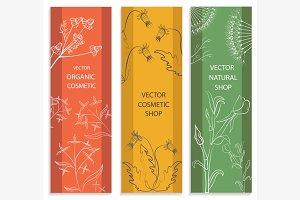 Decorative set, floral