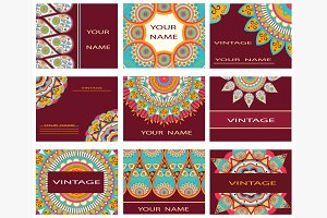 Set invitations, business cards