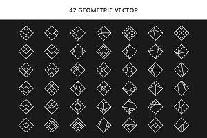 Minimalist Geometric Vector V2