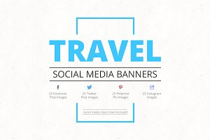 Travel Social Media Banners