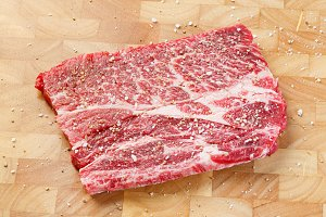 Beef chuck steak