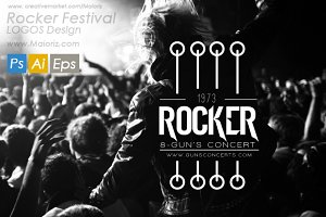 Rock Badges & Logos Vol.01