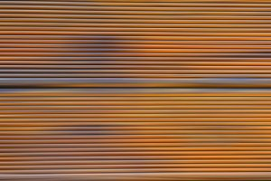 blulrred modern fence background