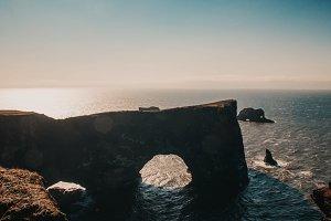 Vik Beach + Cliffs Iceland