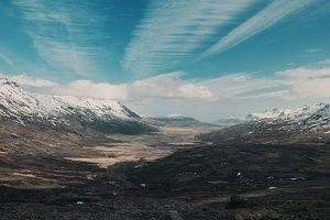 Mountain Pass Iceland
