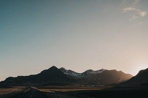Iceland Sunset Valley