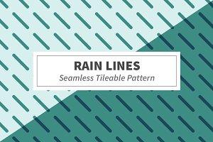 Rain Lines Seamless Pattern