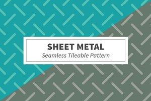 Sheet Metal Seamless Pattern