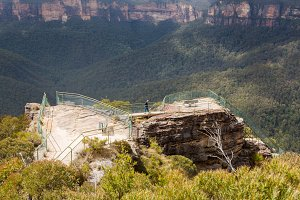 Blue Mountains in Australia