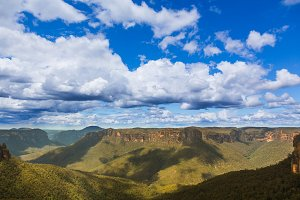 Blue Mountains landscape Australia