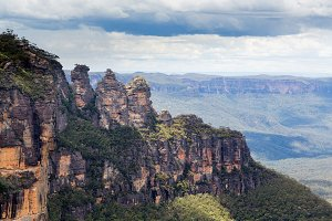 Blue Mountains landscape Australia