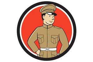 World War One British Officer