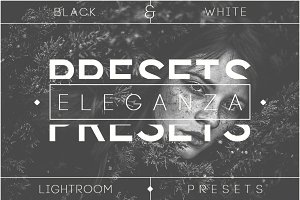 Eleganza | 74 B&W Lightroom Presets