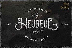 Heubeul Vintage Typeface (UPDATE)