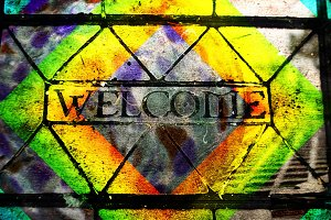 welcome alternate one texture font