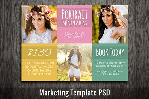 Photography Template PSD Template
