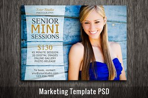 Mini Session Template Photoshop PSD