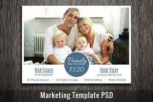 Photography Marketing Template PSD