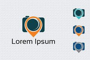 Camera Place Map Pin Symbol