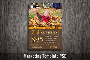 Fall Marketing Template Photography