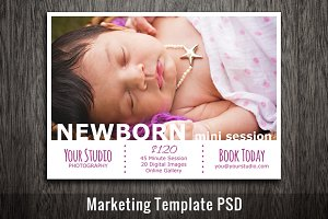 Baby Newborn Mini Session Template