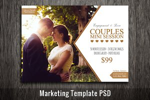 Marketing Template PSD Template