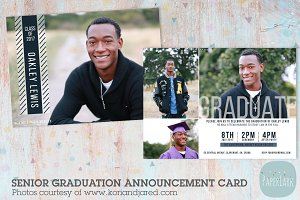 AG006 Senior Graduation Card