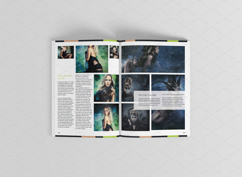 Newington Portfolio ~ Brochure Templates ~ Creative Market