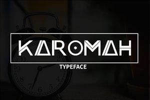 Karomah Typeface Font