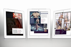 Tablet Portfolio Bundle for Indesign