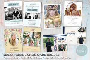 AG005 Senior Graduation Card Bundle