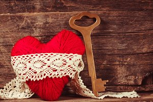 Red thread heart