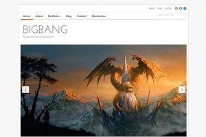 BigBang - Responsive Portfolio Theme
