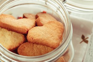 The Heart cookies