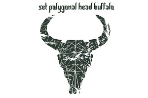 Polygonal head buffalo