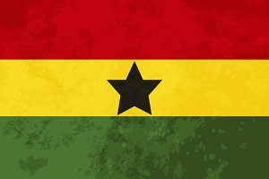 True proportions Ghana flag