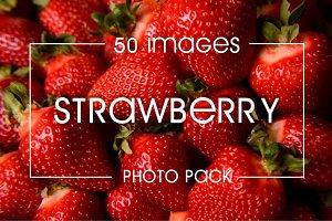 Strawberry photo pack