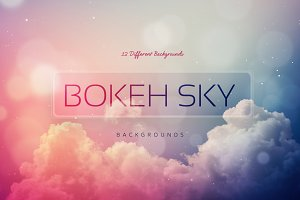 Bokeh SKY Backgrounds V1