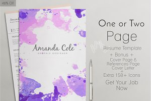 Professional ResumeTemplate-40%Off