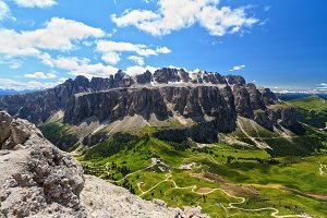 Dolomiti - Sella mount